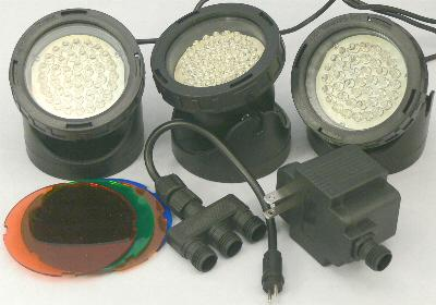 QL34-40x3 LED underwater light