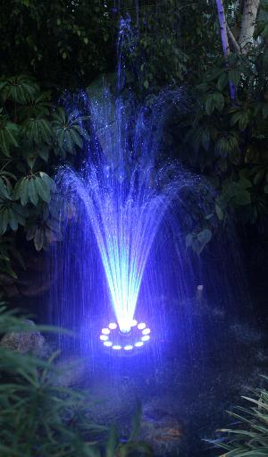 diy floating led water fountain