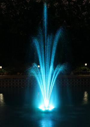 floating water fountain for pool