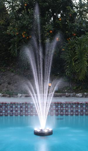 pool floating fountain