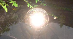 10W submersible floating pond light